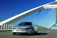 Volkswagen XL1: the most efficient production car in the world