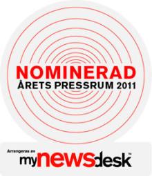 Europeiska åter nominerat till Årets Pressrum!