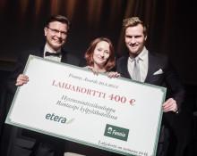 Vuoden 2015 Franchisingketju ja -yrittäjä valittu