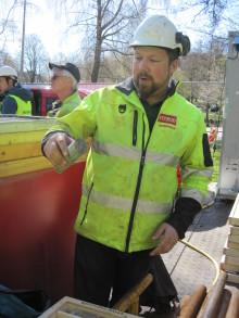 Geoteknisk undersökning i hjärtat av Göteborg