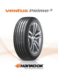 Hankook Ventus Prime³: Nytt komfortdäck i premiumklassen för europeiska vägar