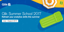 Fräscha upp dina kunskaper i dataanalys - gratis på Qlik Summer School