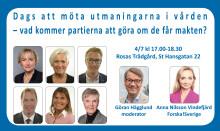 Välkommen till debatt & mingel i Almedalen!