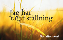 USÖ uppmärksammar den nationella donationsveckan