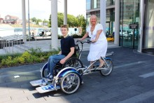Cycling events help Rochdale gear up for disability awareness week