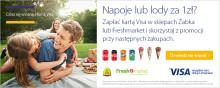 Visa promuje płatności kartami wspólnie z sieciami Żabka i Freshmarket