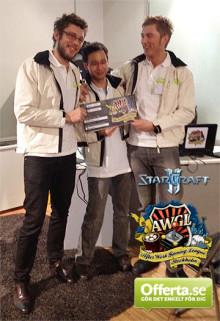 Offerta.se kämpade i e-sport och vann 20 000kr åt Amnesty