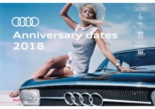 Audi jubilæer i 2018