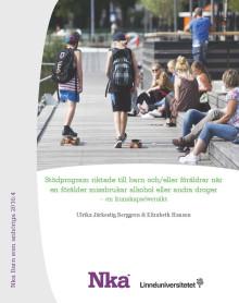 Ny kunskapsöversikt från Nka om effekter av stödprogram riktade till barn och/eller föräldrar vid missbruk