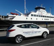 De krysset Europa med hydrogenbil