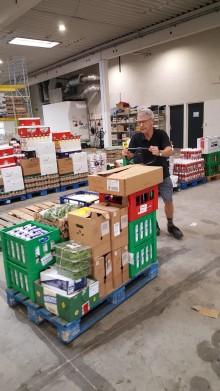 FødevareBanken henter over 4 tons overskudsmad fra SMUK Fest