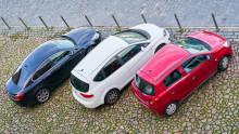 En procent av personbilarna är laddbara