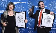 Musikförläggarnas Pris/Swedish MPA Awards to Rehnqvist and Staern