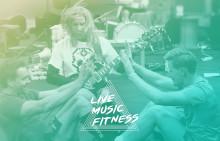 Live Music Fitness - Premiär för träningskoncept med liveband 27 maj på Brewhouse Arena