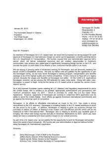 Letter to Obama