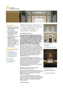 Pressrelease: Statens Fastighetsverk samverkar med Länsmusiken och Blåsarsymfonikerna
