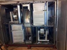 Förbättrat luftflöde i skola med nya EC-kammarfläktar i gammalt ventilationsaggregat
