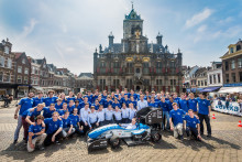 Formula Student Team Delft visar upp elektrisk racerbil tillverkad på 3DEXPERIENCE-plattformen i molnet