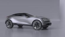 Ny elektrisk konseptbil fra Kia  vist i Shanghai.