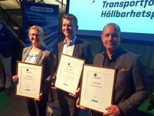 Transportföretagens Hållbarhetspris