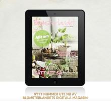 Nytt nummer Blomsterlandets digitala magasin!