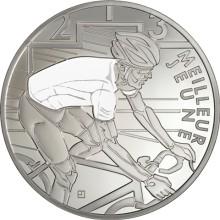 Frankrig skaber opmærksomhed omkring jubilaren Tour de France med mindesmønter