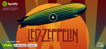 LED ZEPPELIN ARRIVES ON SPOTIFY