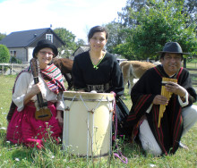 Höstens kulturluncher startar med  Khala Uma – folkmusik från Bolivia!