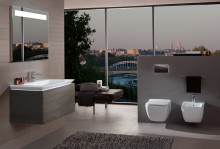 From the furniture series to a complete bathroom collection – Legato: Unique day and night