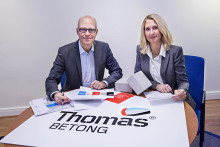 Thomas Betong investerar i ny fabrik i Heby utanför Uppsala