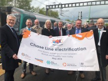 Significant improvements for passengers when electric trains are introduced between Walsall and Rugeley