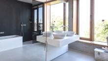 Wohnen und arbeiten im multifunktionalen Stadthaus – Bäder von Villeroy & Boch im FLOSUNDK-Gebäude in Saarbrücken