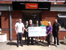 ​Farnell staff inspired to raise funds for Stroke Association in Yorkshire after employee's stroke