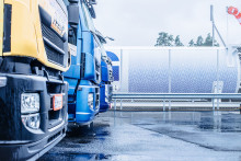 Nya tankstationer för flytande gas till tunga fordon i Norden