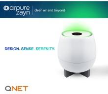 Новинка от QNET: фильтр для воздуха AirPure Zayn с защитой от опасных загрязнений и аллергенов