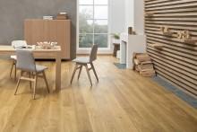 126 nya golv! Storsatsning på parkett- och laminatgolv för hem och uterum
