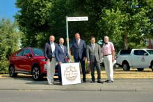 Stadt Friedberg würdigt Engagement der Marken Mitsubishi und Subaru