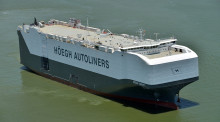 The world's largest Pure Car Truck Carrier is equipped with high quality lighting solutions