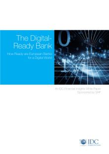 Ny IDC-rapport om europeiska bankers digitala strategier