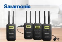 Focus Nordic blir distributör för Saramonic ljudutrustning
