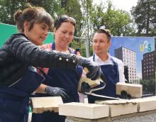 John Mattson startar bygget av ungdomsbostäder på Lidingö