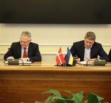 Danmark underskriver nyt 3-årigt energisamarbejde med Ukraine