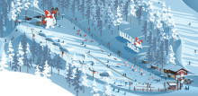 The world of Valle - SkiStar's kids' koncept