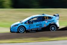 Fördel Bryntesson när RallyX Nordic avslutar i Norge