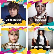 Jake Bugg, Sabina Ddumba, Susanne Sundfør och Wolfmother m.fl. till Malmöfestivalen!