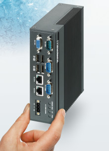 Compact, Energy-Saving Embedded Box PC for the DIN Rail
