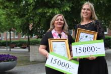 """Två lärare får Järfälla kommuns årliga utmärkelse """"Det gyllene äpplet"""""""