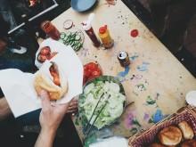 Pratsam lunch på STPLN