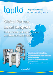 Tapflo Ireland - a global partner with local support