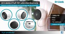 Ekstremt holdbart Full HD udendørskamera
